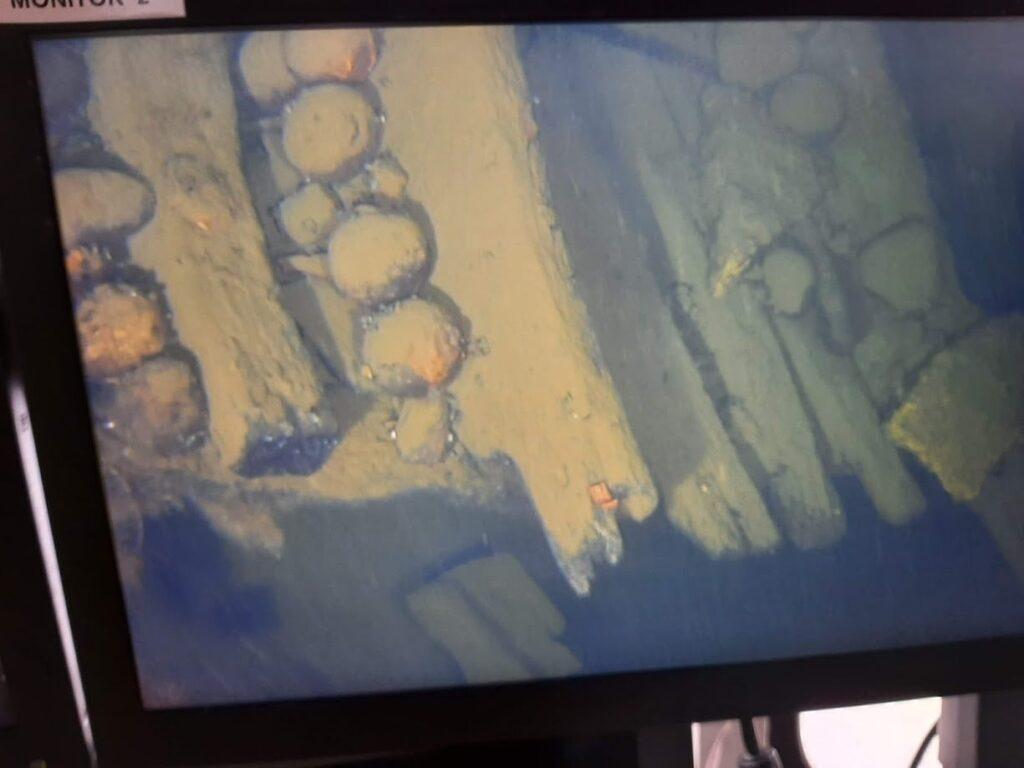 ROV undersökning av vraket Kraveln