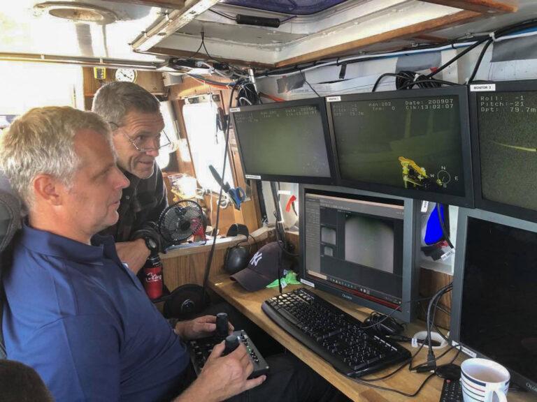 ROV inspektion och besiktning undervatten